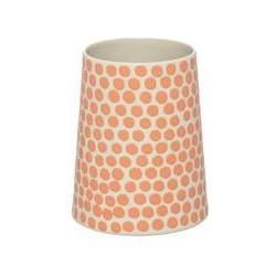 Dickins & Jones Orange Spot vase