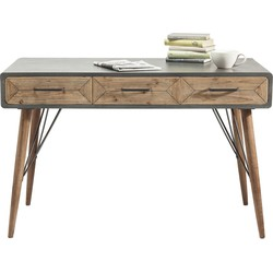 Kare Design - Bureau X Factory 3 Laden - 120x60x76 - Hout