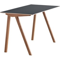 Hay Copenhague n°90 Desk. Dark green,Oak