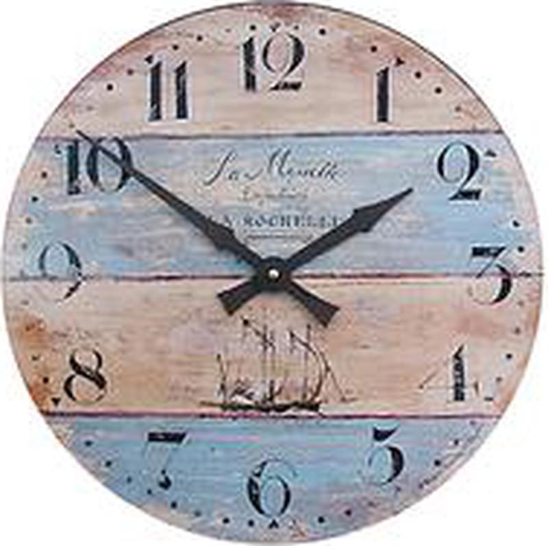 Lascelles Coastal Stripe Wall Clock -