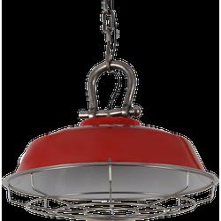 Hanglamp Milan 36 cm Glans Rood