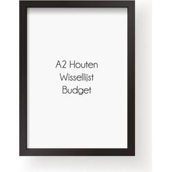 A2 Frame Budget - Wissellijst - Zwart - A2 Frame Zwart
