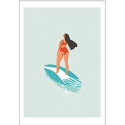 Surf babe (21x29,7cm)