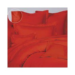 Olivier Desforges Alcove rouge flat sheet 240x310