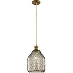 Vintage Pendant Lamp Aged Bronze - Margit