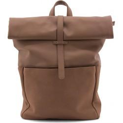 """Monk en Anna """"Herb backpack"""" Rugzak vegan leather - Chestnut"""
