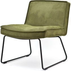 By Boo Fauteuil Montana Polyester groen 78 x 66 x 70