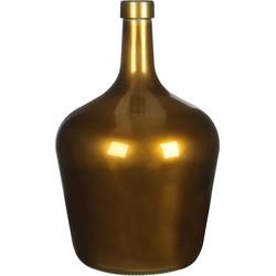 Mica Decorations fles manuel glas maat in cm: 24x15.5 goud