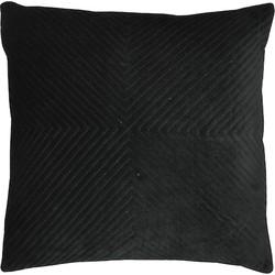 Kussen Velvet zwart