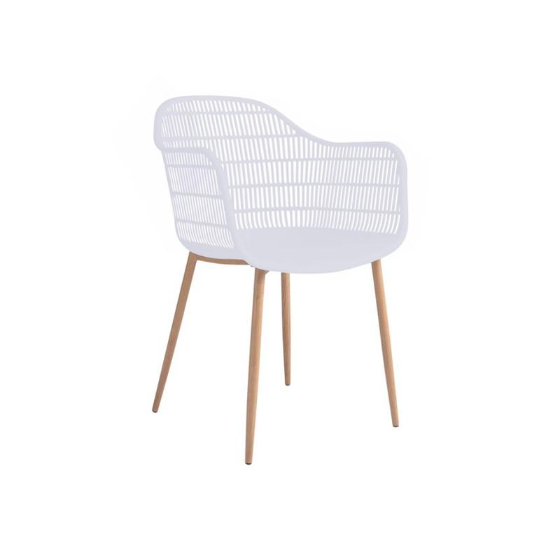 Tamy - Set van 2 stoelen - Wit -