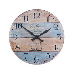 Lascelles Coastal Stripe Wall Clock