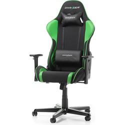 DXRacer Formula-series Game & Bureaustoel - Zwarte Stof - Groen PU
