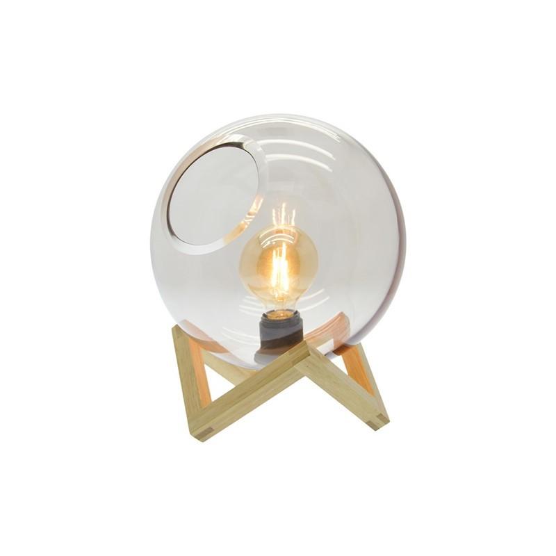 Tafellamp Ayla glazen bol - Zons -