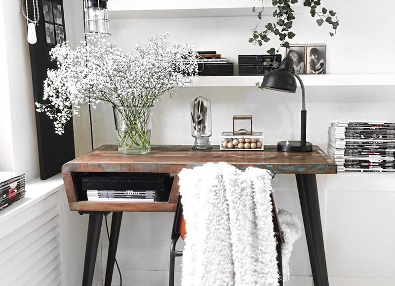 die 12 tollsten items f r einen arbeitsplatz im wohnzimmer alles was du brauchst um dein haus. Black Bedroom Furniture Sets. Home Design Ideas