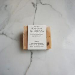 Natuurlijke zeep - Rozen en palmarosa - handzeep