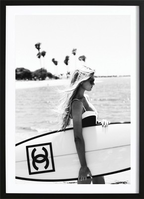 Chanel Surfboard Poster (50x70cm) -