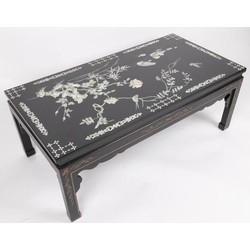 Fine Asianliving Fine Asianliving Chinese Salontafel met echt Parelmoer en Handschilderingen