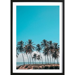 Palms And A Breeze Poster (21x29,7cm)