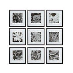 Nielsen Gallery Perfect Multi-Aperture Piece Frame, 9 Photo