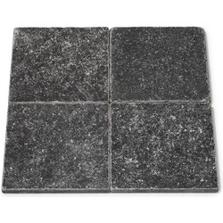 Karia Black Tumbled 15 x 15 x 1 cm