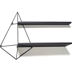 Serax Butterfly Wandrek Centerpiece Inclusief 2 Planken 96x22x64 - Zwart