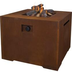 Cosi fires Cosiconcrete vuurtafel 80x80 cm - cortenstaal