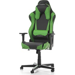 DXRacer Racing Shield-series Game & Bureaustoel - Zwart/Groen PU