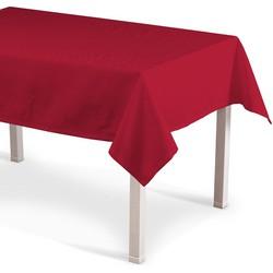 Rechthoekig tafelkleed rood