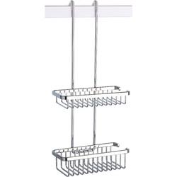 Geesa Basket Double dubbele korf hangend Chroom