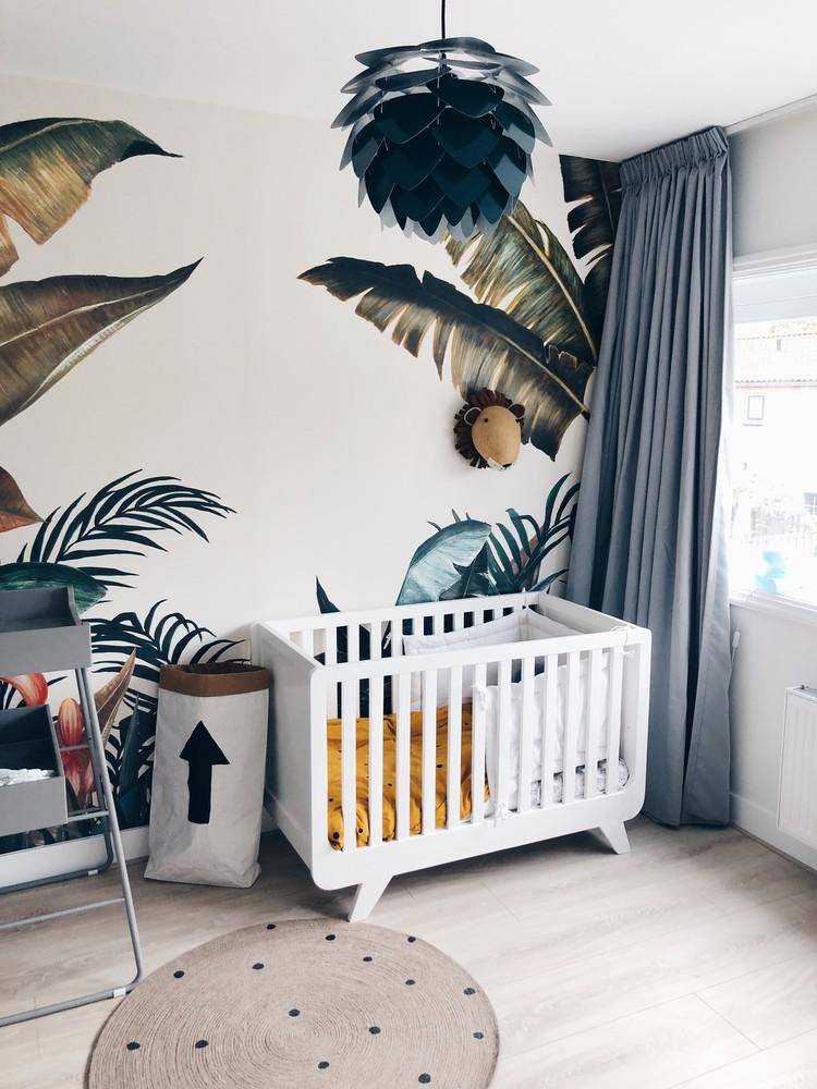 babykamer jungle thema