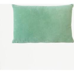 Urban Nature Culture cushion Vintage velvet malachite green