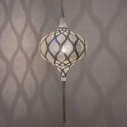 Hanglamp Grace  Moorish - zilver - medium - Zenza