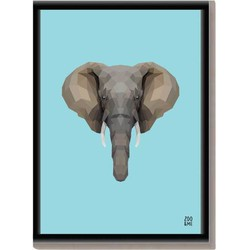 Dierenposter Olifant - A3