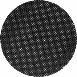 Placemat Sture rond zwart set/6 Dixie