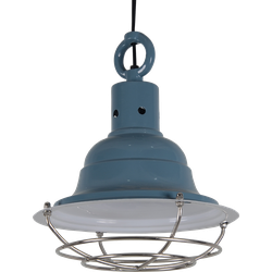 Hanglamp Goccia klein Glans vintage Blue
