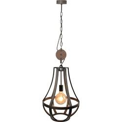 Hanglamp Condor Zwart Staal 40cm