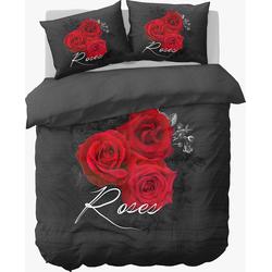 Nightlife Dekbedovertrek Flower Rose-200x200/220