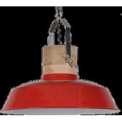 Hanglamp Loreto 62 cm Glans Rood