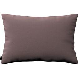 Kussenhoes Kinga rechthoekig 60x40 bruin-paars