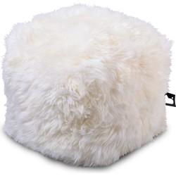Extreme Lounging poef b-box Indoor Sheepskin Creme