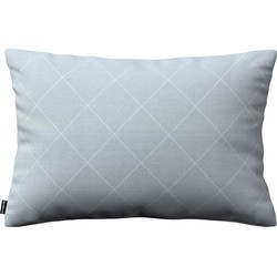 Kussenhoes Kinga rechthoekig 60x40 grijs-zilver