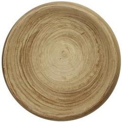 Schaal Ø41x7 cm ALENCON hout naturel