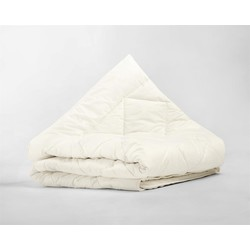 Percale Cotton Wool Touch Enkel Dekbed Cream - 200 x 200