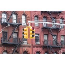 """""""New York Soho Lights"""" op Dibond 120cm"""