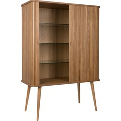 Zuiver Barbier Kast - 100x45x140 - Hout