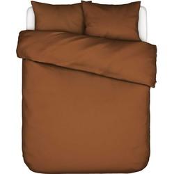 Essenza Dekbedovertrek Minte Leather Brown-200x200/220