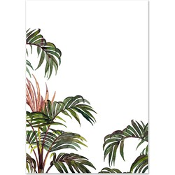 Poster 'Jungle Palm' A3