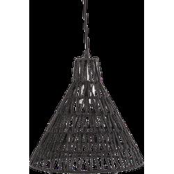 Hanglamp Lauri 30 cm zwart