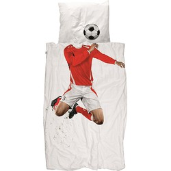 Snurk Dekbedovertrek 140 x 200/220 cm - Soccer