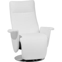 Kunstlederen fauteuil wit PRIME
